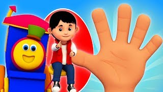 Where is Thumbkin   Learning Street With Bob The Train   Kindergarten Nursery Rhymes by Kids Tv