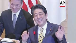 U.S. Secretary of State Mike Pompeo arrives in Japan