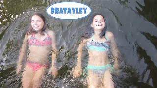 Friends Floating in the River (WK 227.4) | Bratayley