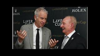 Der sechste Mann: Rod Laver und John McEnroe lüften das Geheimnis in NYC