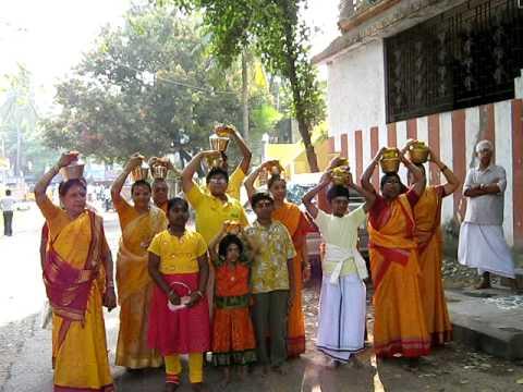 Paal Kavadi on Thai Poosum Day