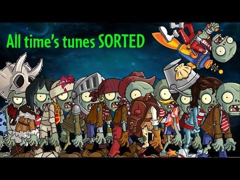 PvZ 2 Modern Day Theme: Spotting out every World's tunes SOUNDTRACK ANALYSIS