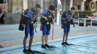 دورة الغوص الأولى للرئاسة العامة لرعاية الشباب.