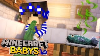 Minecraft-Bold Baby-BABY CARLY GETS A VOMITING BUG!!