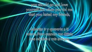 Love Yourself de Justin Bieber, Letra (Lyrics) en Español-Ingles