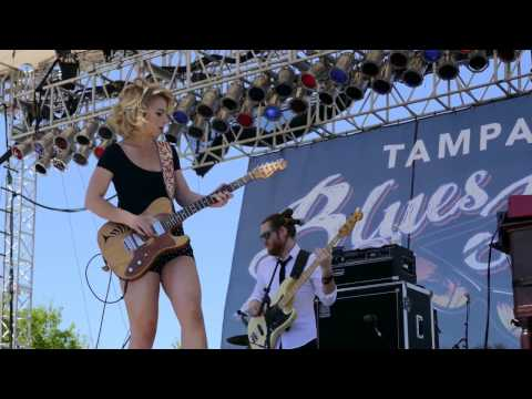 Samantha Fish 2017-04-08 St. Petersburg, Florida - The Tampa Bay Blues Festival - Hurts All Gone