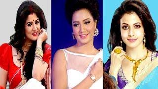 কলকাতার জনপ্রিয় নায়িকাদের মধ্যে কে বেশি এগিয়ে । who is the top heroines in kolkata