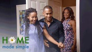 A Mom of Six Gets a Bedroom Makeover Fit for a Queen | Home Made Simple | Oprah Winfrey Network