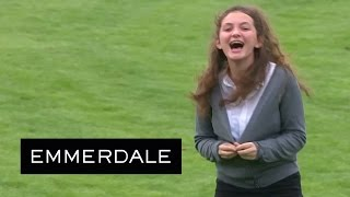 Emmerdale - Gabby Gets Naked For A Dare