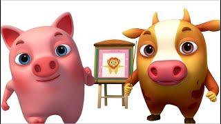 Head Shoulders Knees and Toes (Single)   Animinies Nursery Rhymes   Videogyan 3d Rhymes & Baby Songs