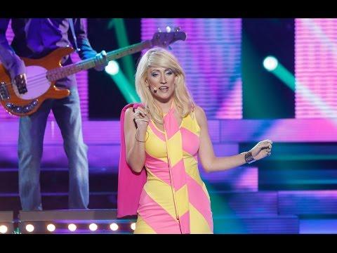Ana Morgade imita a Blondie en 'Tu cara me suena'
