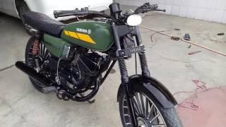 Yamaha Rx 135 green