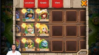 Rolling 30000 Gems For Heroes Mainly Aries ONE TIME Castle Clash