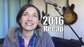 2016 Recap! + live stream on 1st Jan