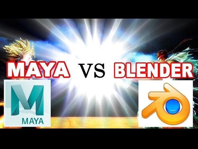 🤔 Should you Learn Maya or Blender 3D? ✔️
