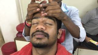 Local Street Barber Head Massage (Bihar Special)|ASMR