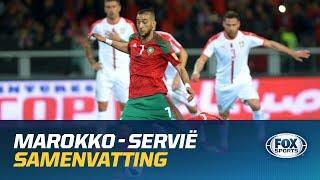 HIGHLIGHTS | Marokko - Servië