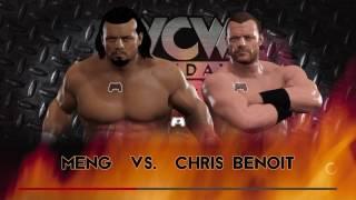WCW2K17 January 1997 Week 1 WCW Nitro Match 2 Meng vs Chris Benoit