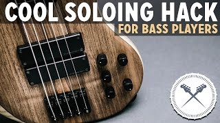 Cool Soloing Hack for Bass Players (The Blues) /// Scott's Bass Lessons