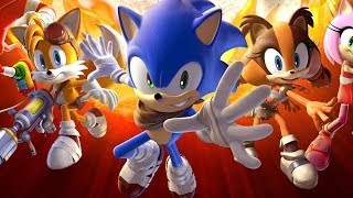 Sonic Boom Shattered Crystal Full Movie All Cutscenes