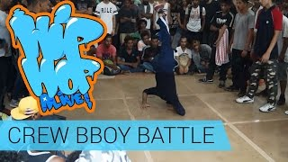 Mumbai Vs Delhi - Crew BBoy Battle @ HipHop Alive