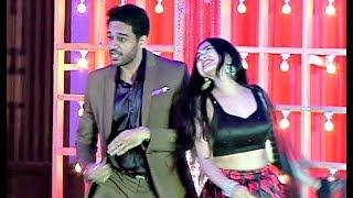 Gaurav Khanna And Akanksha Chamola Dance At Puja Banerjee And Kunal Verma Engagement