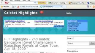 Download Latest IPL Match Highlights Free !!
