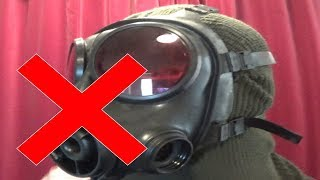 Yet another mistake about gas masks in films and games