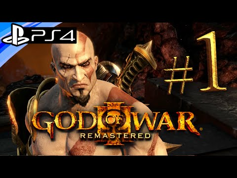 God of War 3 PS4 Remastered: Gameplay Walkthrough Part 1 - Live Stream