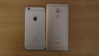 Huawei Mate S vs iPhone 6 - Speed & Camera Test
