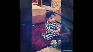 رقص أصغر طفلة على اليوتيوب ليلاس - Cutest girl on youtube