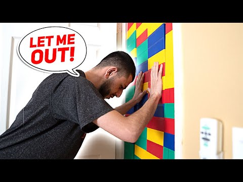 Xxx Mp4 I Trapped My Brother With A GIANT LEGO WALL 3gp Sex