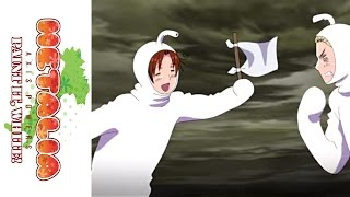 Hetalia: Paint it, White! - Available on DVD 11.22.11 - Clip 3