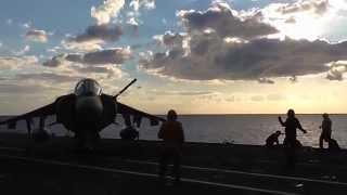 Marina Militare - In addestramento con nave Garibaldi nel Golfo di #Taranto