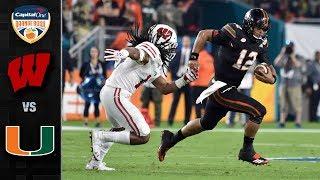 Wisconsin vs. Miami Orange Bowl Highlights (2017)