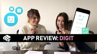 2 Girls And An App: Digit App Review