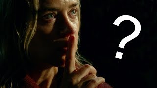 Is This the Weirdest Script I've Ever Read? - A Quiet Place