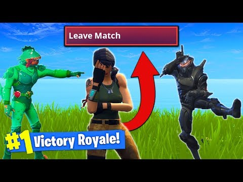 Xxx Mp4 THIS TROLL Made Him RAGE QUIT In Fortnite Battle Royale 3gp Sex