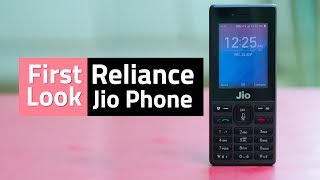 Jio Phone Unboxing & First Look | Camera, Wi-Fi, Voice Assistant, and More