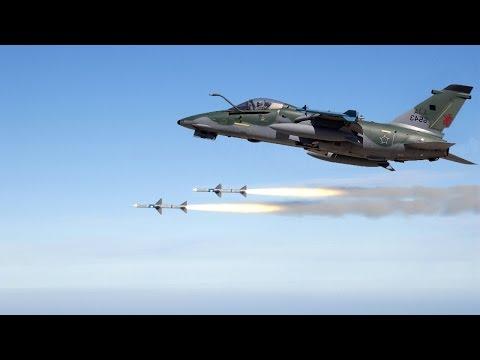 Brazilian Air Force: A-1 AMX Fighter-Bomber