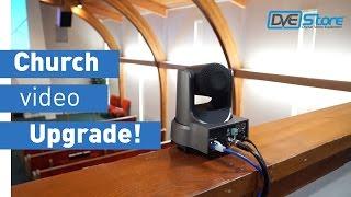 Church Video Upgrade - SD to HD; PTZ, vMix & NDI!