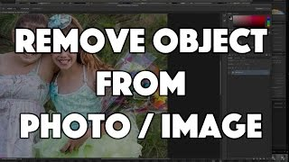 Remove an Object from Photo or Image - Photoshop CC