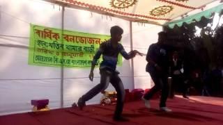 Ashik&Alamin dance Bangladesher manush mora