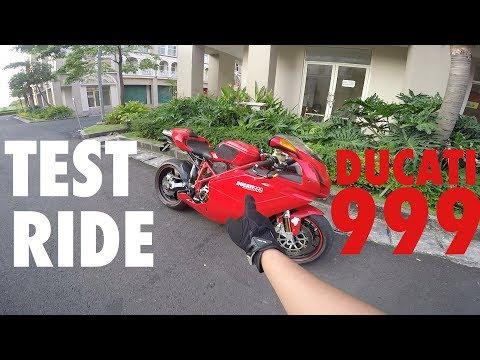 Test Ride Ducati 999 si Tua-tua Keladi! #motovlog Indonesia