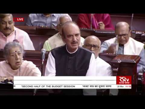 Xxx Mp4 Leader Of Oppn Ghulam Nabi Azad Lists Out 3 Issues The Oppn Wants To Discuss 3gp Sex
