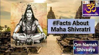 Facts About Maha Shivaratri