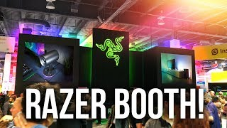 Razer Booth @ CES 2018 - MOAR CHROMA + Project Linda, Hyperflux