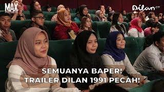 Ekspresi Penonton Saat Tonton Trailer Dilan 1991