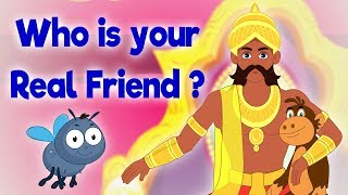 Who is your real friend?  Panchatantra In English - Cartoon / Animated Stories For Kids