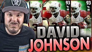 INSANE DAVID JOHNSON!! WE GOT HIM - MADDEN 17 ULTIMATE TEAM PACK OPENING